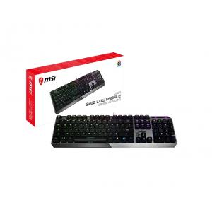 MSI Vigor GK5 Low Profile RGB Mechanical Gaming Keyboard