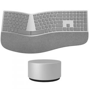 Microsoft Surface Ergonomic Keyboard Gray + Surface Dial