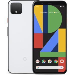 "Google Pixel 4 XL 64GB Verizon Smartphone 6.3"" QHD+ Display 6GB RAM Clearly White"