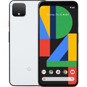 "Google Pixel 4 64GB Verizon Smartphone 5.7"" FHD Display 6GB RAM 4G Clearly White"