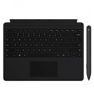 Microsoft Surface Pro X Keyboard Black Alcantara+Surface Slim Pen Black