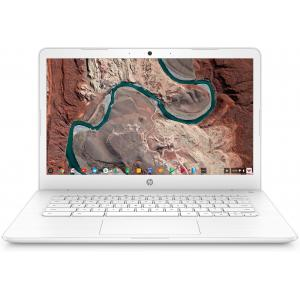 "HP 14 14"" Chromebook Intel Celeron N3350 4GB RAM 32GB eMMC Snow White"