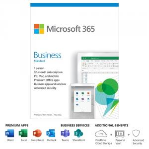 Microsoft 365 Business Standard 1 Year Subscription For 1 User