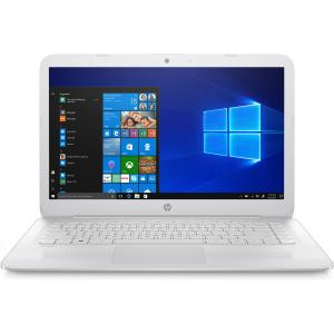 "HP Stream 14"" Laptop Intel Celeron N4000 4GB RAM 32GB eMMC Snow White"