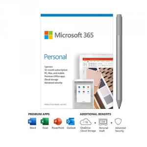 Microsoft 365 Personal 1 Year For 1 User+Surface Pen Platinum