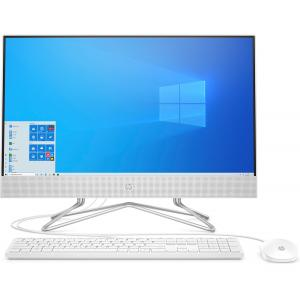 "HP 24 Series 23.8"" All-in-One Desktop Computer AMD Athlon 3150U 8GB RAM 512GB SSD Snow White"