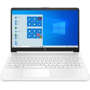 "HP 15 Series 15"" Laptop Intel Core i3 4GB RAM 256GB SSD Snow White"