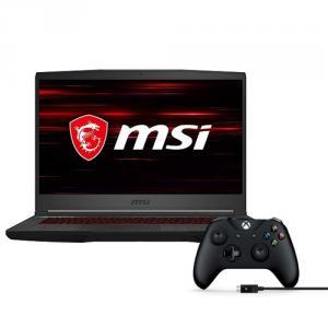"MSI GF65 Thin 15.6"" Gaming Laptop Core i7 8GB RAM 512GB SSD 120Hz GTX 1660Ti 6GB + Xbox Wireless Controller and Cable for Windows"