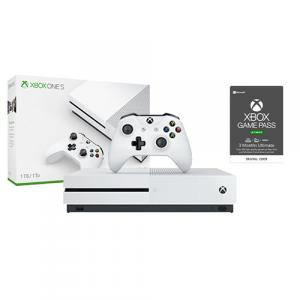 Microsoft Xbox One S 1TB Console + Xbox Game Pass Ultimate 3 Month Membership (Email Delivery)