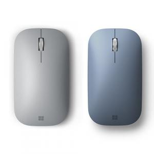 Microsoft Surface Mobile Mouse Platinum+Surface Mobile Mouse Ice Blue