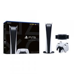 PlayStation 5 Digital Edition + DualSense Wireless controller + HD Camera + DualSense Charging Station