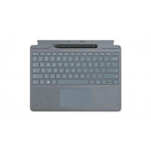 Microsoft Surface Pro X Signature Keyboard Ice Blue with Slim Pen