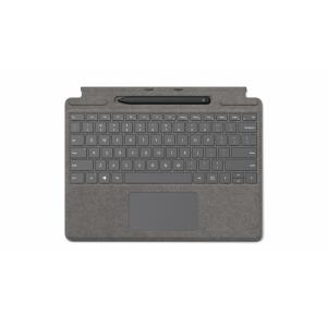Microsoft Surface Pro X Signature Keyboard Platinum with Slim Pen