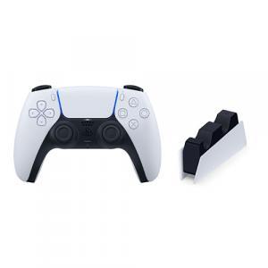 PlayStation 5 DualSense Wireless Controller + PlayStation 5 DualSense Charging Station for Controller
