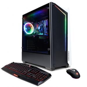 CYBERPOWERPC Gamer Master Gaming Computer AMD Ryzen 7-3700X 16GB RAM 1TB HDD 500GB SSD GeForce RTX 3070 8GB