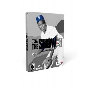 MLB The Show 21 Jackie Robinson MVP Edition PS4 with PS5 Entitlement