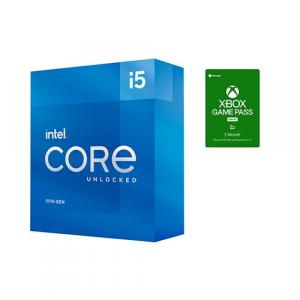 Intel Core i5-11600K Unlocked Desktop Processor + Microsoft Xbox Game Pass For PC 3 Month Membership (Email Delivery)
