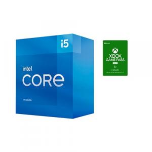 Intel Core i5-11400 Desktop Processor + Microsoft Xbox Game Pass For PC 3 Month Membership (Email Delivery)