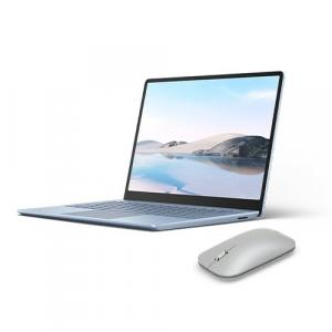 "Microsoft Surface Laptop Go 12.4"" Touchscreen Intel Core i5 8GB RAM 128GB SSD Ice Blue + Surface Mobile Mouse Platinum"