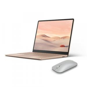 "Microsoft Surface Laptop Go 12.4"" Touchscreen Intel Core i5 8GB RAM 128GB SSD Sandstone+ Surface Mobile Mouse Platinum"