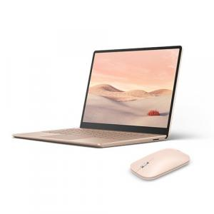 "Microsoft Surface Laptop Go 12.4"" Touchscreen Intel Core i5 8GB RAM 128GB SSD Sandstone+ Surface Mobile Mouse Sandstone"