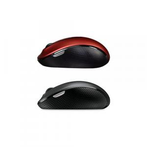 Microsoft Wireless Mobile Mouse 4000 Black + Microsoft Wireless Mobile Mouse 4000 Red