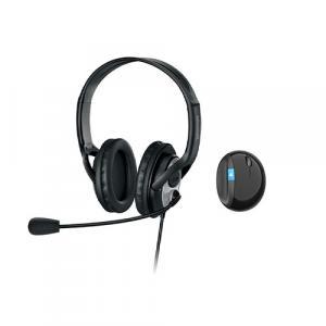 Microsoft LifeChat LX-3000 Digital USB Stereo Headset Noise-Canceling Microphone + Sculpt Ergonomic Mouse