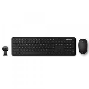 Microsoft Bluetooth Keyboard & Mouse Desktop Bundle + Microsoft LifeCam HD-3000 Webcam