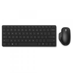 Microsoft Designer Compact Keyboard Matte Black + Microsoft Bluetooth Ergonomic Mouse Matte Black