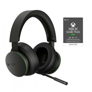 Xbox Wireless Headset + Xbox Game Pass Ultimate 3 Month Membership (Email Delivery)