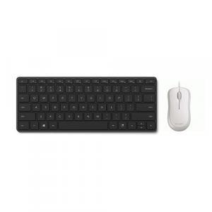 Microsoft Designer Compact Keyboard + Microsoft USB Mouse White