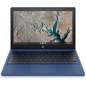 "HP 11a 11.6"" Touchscreen Chromebook MediaTek MT8183 4GB RAM 32GB eMMC Indigo Blue"