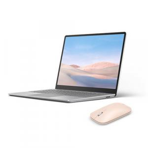 "Microsoft Surface Laptop Go 12.4"" Intel Core i5 8GB RAM 128GB SSD Platinum + Microsoft Surface Mobile Mouse Sandstone"