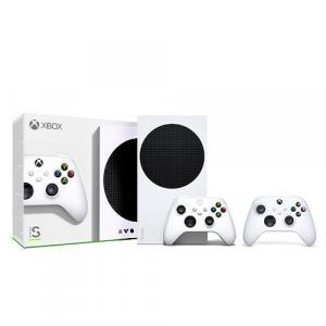 Xbox Series S 512GB SSD Console w/ Wireless Controller + Extra Xbox Wireless Controller Robot White