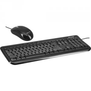 Microsoft Wired Desktop 600 Keyboard and Mouse Black