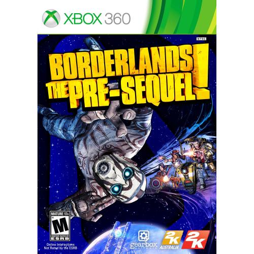 Borderlands: The Pre-Sequel Xbox 360 - For Xbox 360 - ESRB Rated M (Mature 17+) - Action/Adventure & Shooter - Multiplayer Supported