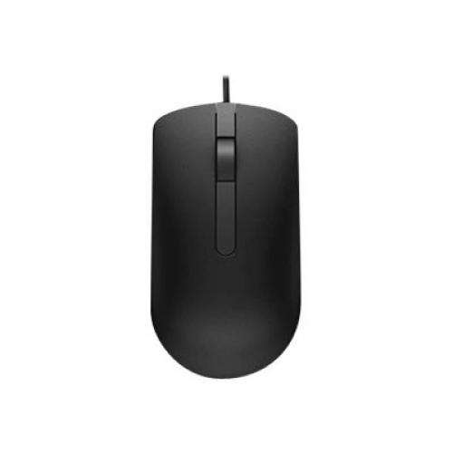 Dell M3116 Wired Optical Mouse - Wired USB Interface - 1000 dpi movement resolution - Optical LED Tracking - 3 Total Buttons - Scroll Wheel