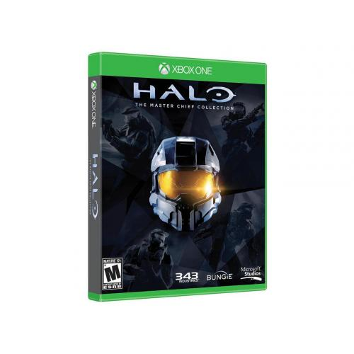 Halo:The Master Chief Collection Xbox One   Xbox One Exclusive   ESRB Rated Mature (17+)   Strategy & Shooter Game   Features Multiplayer Modes   Includes Four Full Games