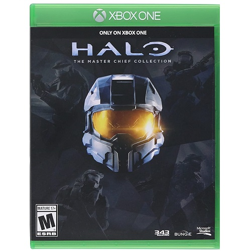 Halo:The Master Chief Collection Xbox One - Xbox One Exclusive - ESRB Rated Mature (17+) - Strategy & Shooter Game - Features Multiplayer Modes - Includes Four Full Games
