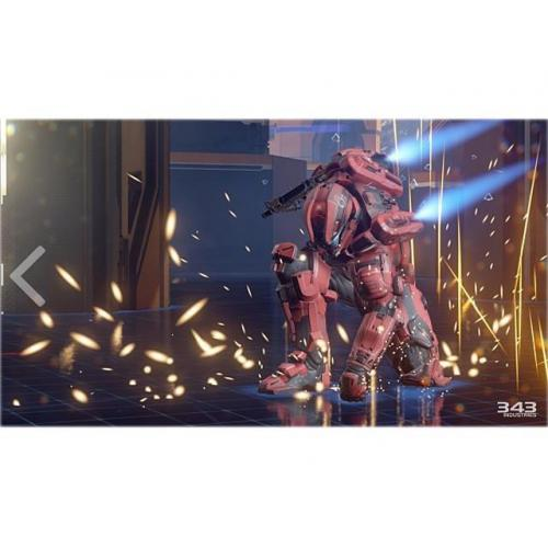 Microsoft Halo 5 Xbox One   For Xbox One   ESRB Rated T (Teen 13+)   First Person Shooter   Multiplayer Supported