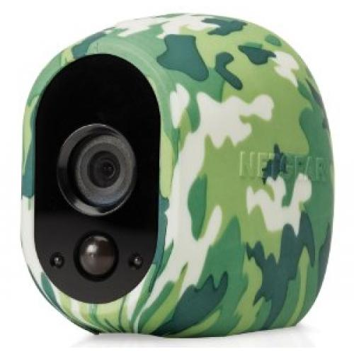 Arlo Replaceable Multi Colored Silicone Skins Black & Camouflage Green    Replaceable Silicone Skins   Available In Black/green/camouflage   UV And Water Resistant   Ideal For Indoor/outdoor Use   Slip Skin On Or Off Easily