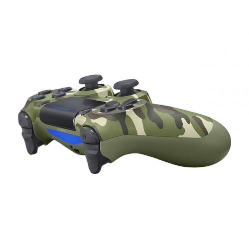 Sony DualShock 4 Wireless Controller Green Camouflage     Wireless   Bluetooth   USB   Playstation 4   Green Camouflage