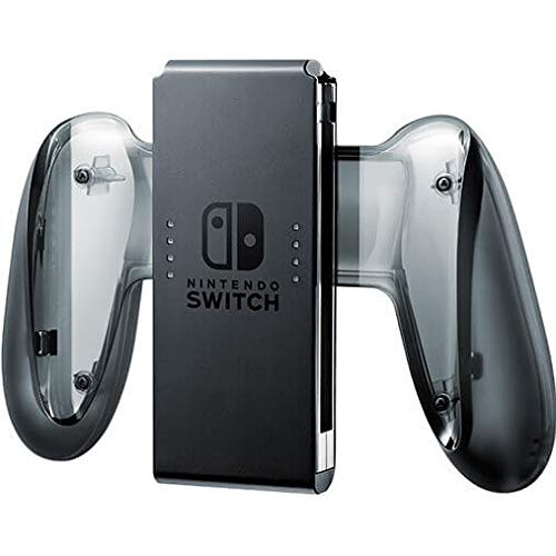 Nintendo Switch Joy-Con Charging Grip - USB Type-C connector & cable included - Allows recharge while you play - Both controllers can be slotted into this accessory - Compatible w/ Nintendo Switch Controller