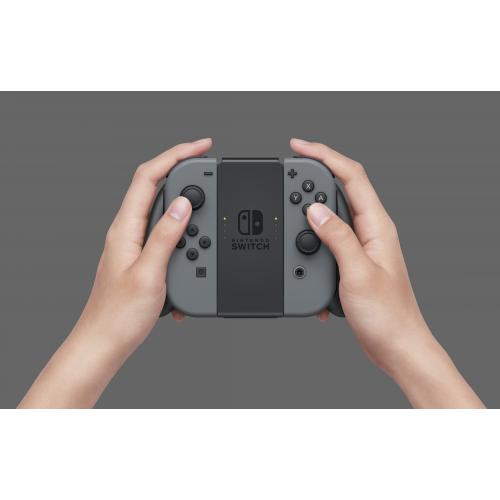 Nintendo Switch Joy Con Charging Grip   USB Type C Connector & Cable Included   Allows Recharge While You Play   Both Controllers Can Be Slotted Into This Accessory   Compatible W/ Nintendo Switch Controller