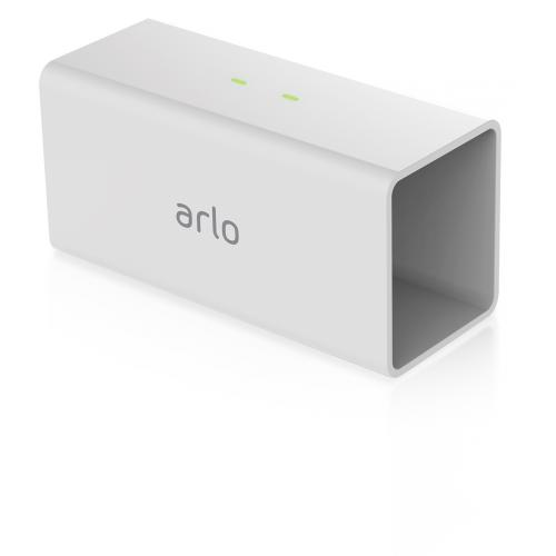 Arlo Pro Charging Station (White)  -  2 charging bays - Designed for Arlo Pro Rechargeable Batteries Only - Dual Charging Bays: Up to 2 Batteries Simultaneously - Get up to 4X faster charging with fast Charging Technology