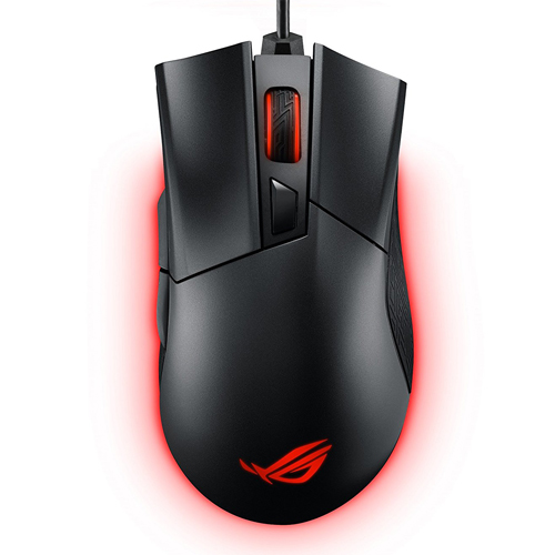 ASUS ROG Gladius II Mouse Black     Optical Cable   12000 DPI Optical Sensor   Detachable Cable Design   Ergonomically Designed For All Grip Types   Features Push Fit Switch Socket Design
