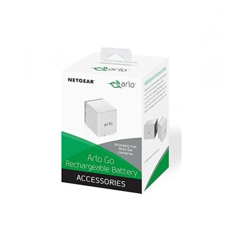 Arlo Rechargeable Battery | Compatible With Arlo Go Only | (White)     Add On 3660mAh Lithium Ion Battery   Compatible With Arlo Go Cameras   Arlo Go Camera Or Arlo Charging Station Required To Charge The Battery.