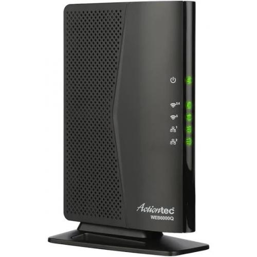 Open Box: Actiontec 802.11ac Wireless Network Extender with Gigabit Ethernet - 2.4GHz & 5GHz dual concurrent Wi-Fi radios - Two Gigabit Ethernet ports - Integrated wireless networking - Multiple security offerings - WMM, IP address management
