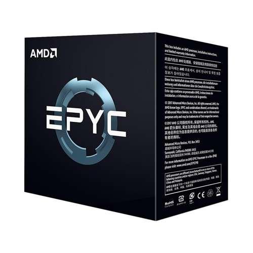 AMD EPYC 7251 8-core Server Processor - 8 cores & 16 threads - 2.1 GHz- 2.9 GHz CPU Speed - PCIe 3.0 x 128 - Socket SP3 Processor - 32MB L3 cache