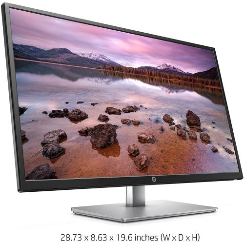 "HP 31.5"" Full HD LCD Monitor   1920 X 1080 FHD Display @ 60 Hz   HDMI & VGA Ports For Easy Connectivity   5 Ms Response Time   178 Degree Viewing Angles   99% SRGB Color Gamut"